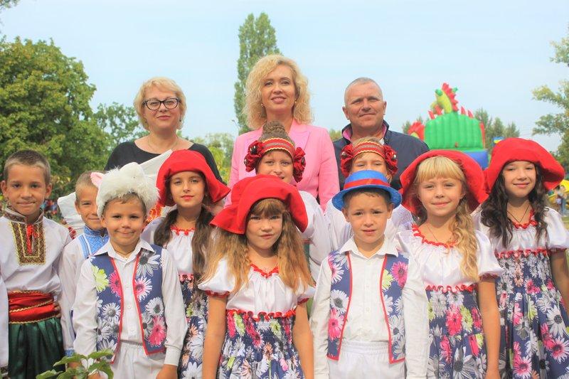 Канівців із Днем міста привітала меценат Людмила Русаліна