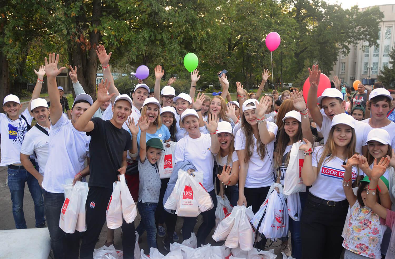 Людмила Русаліна підтримала Міжнародний фестиваль «Радість» для онкохворих дітей