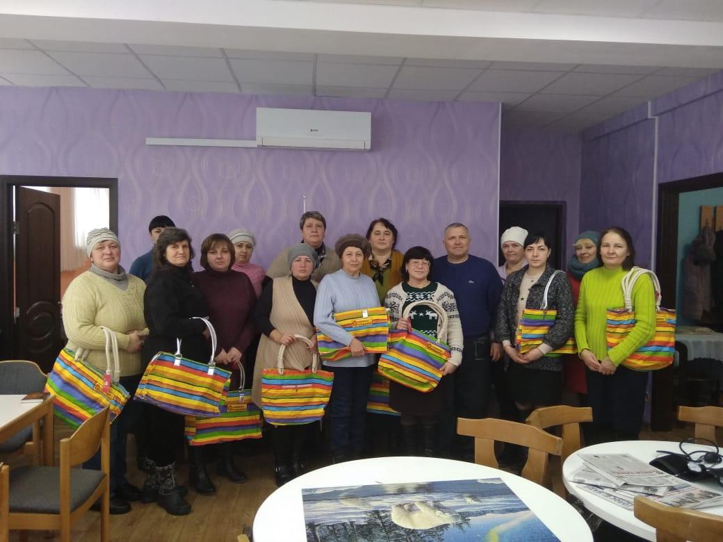 З прийдешнім Новим роком: фондівці привітали соціальних працівників Канева