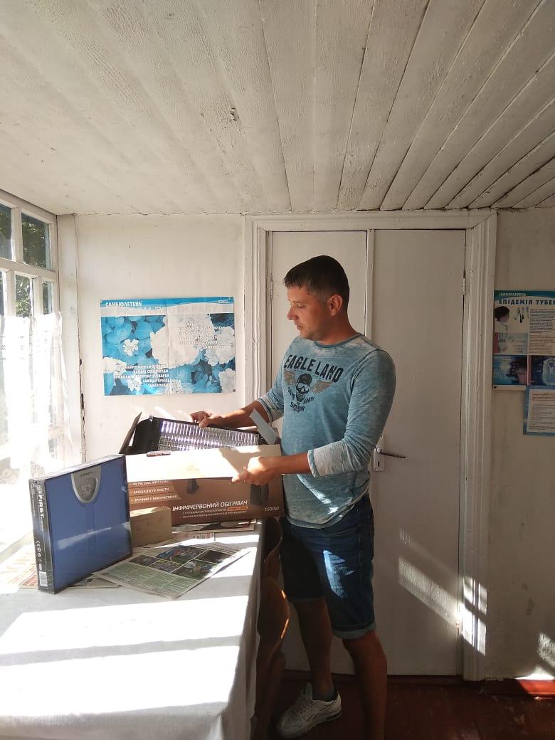 У селі Студенець ФАП отримав нове обладнання