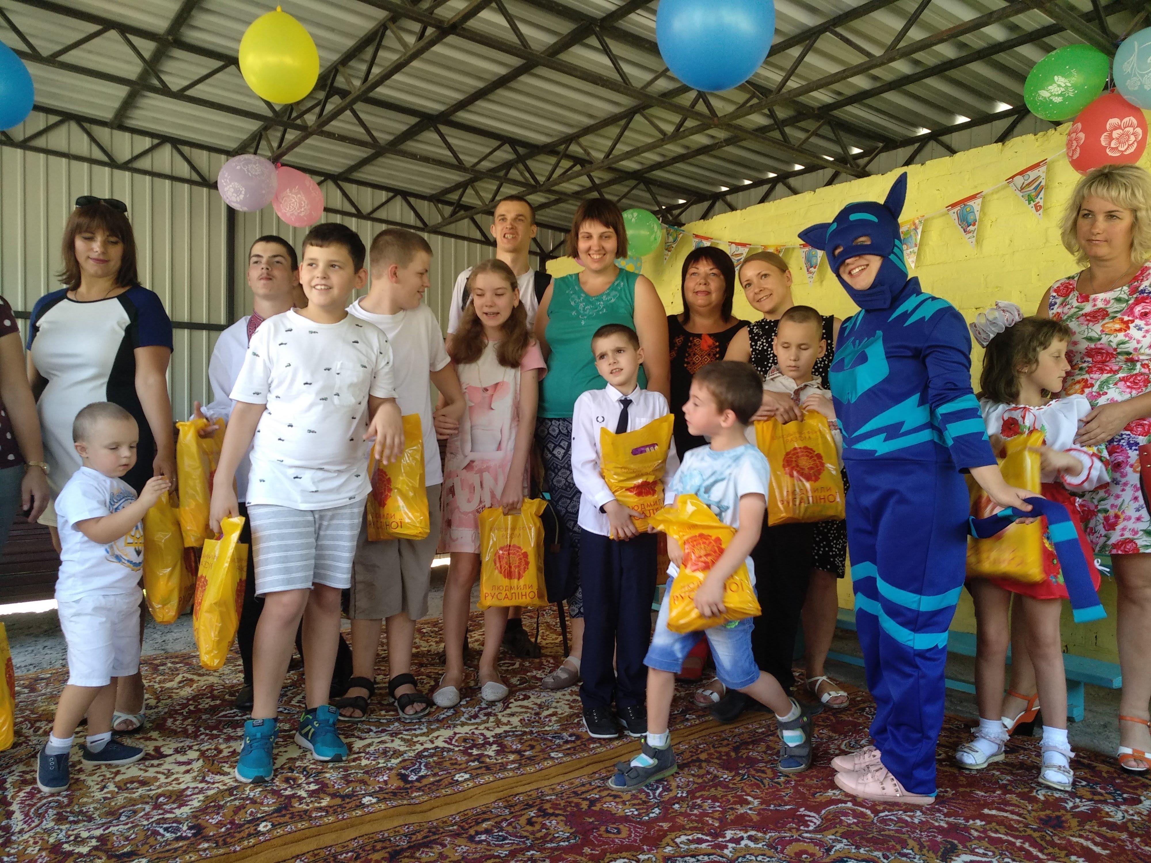 Солодощі – для діток Терцентру