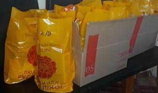 У Золотоноші ветерани праці медичної галузі отримали подарунки до Великодніх свят