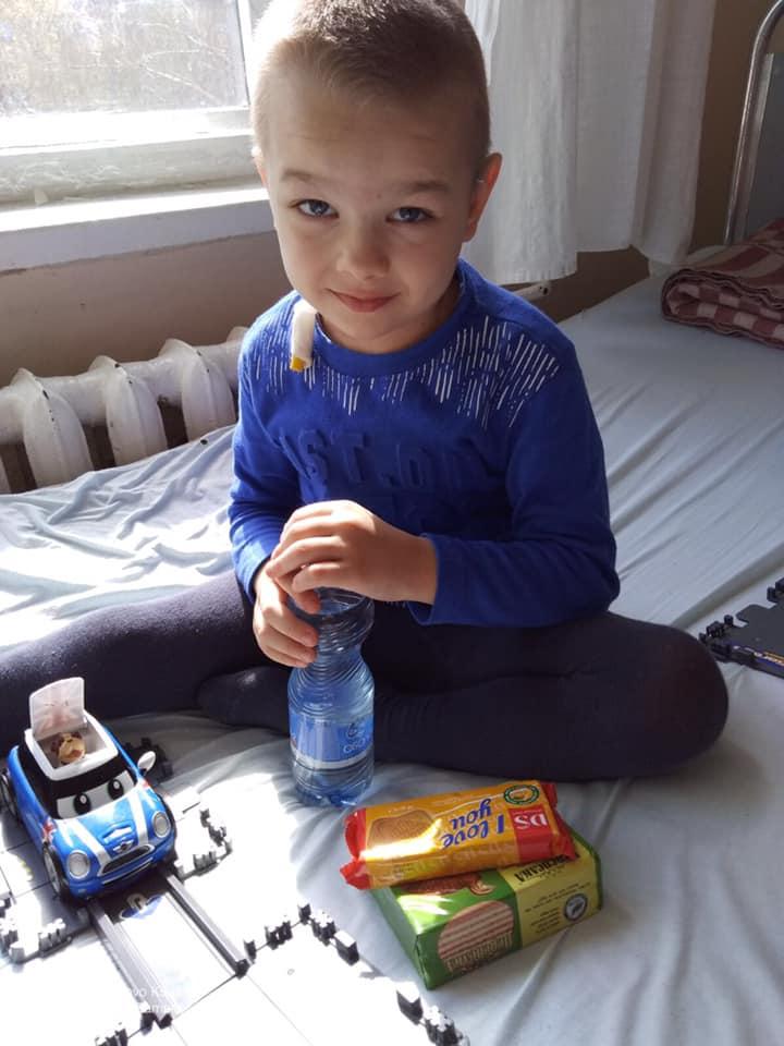 """Допомога дітям НДСЛ""""Охматдит"""""""