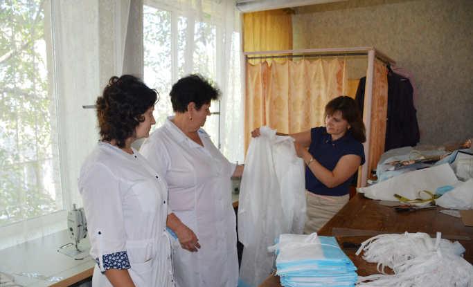 У Золотоноші продвжують забезпечувати лікарів захистом