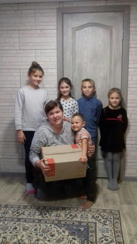 Всесвітній день дитини відзначили подарунками для будинків сімейного типу