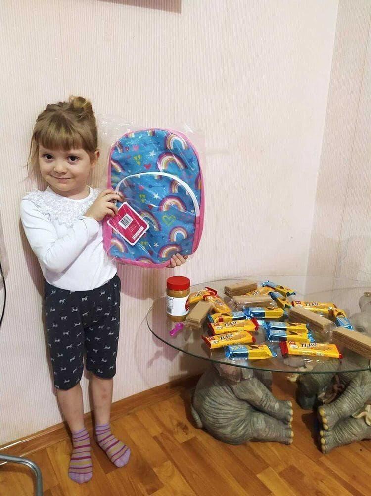 Подарунки для дітей на лінії розмежування