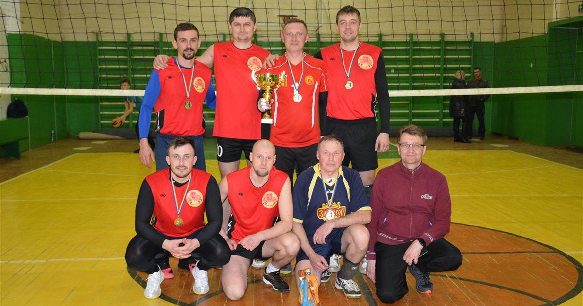 У Золотоноші визначили переможця з волейболу